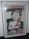 Image of Vinyl Sign Alfred E. Neuman 'Buckle Up' by Nissan