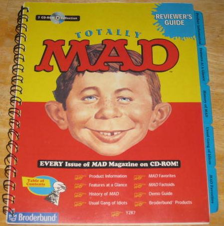 CD-ROM 'Totally MAD' Reviewer's Guide • USA