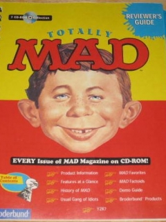Go to CD-ROM 'Totally MAD' Reviewer's Guide • USA