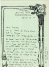 Image of Letter from Tom Bunk