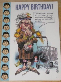 Go to Greeting Card Gibson Jack Davis Art • USA