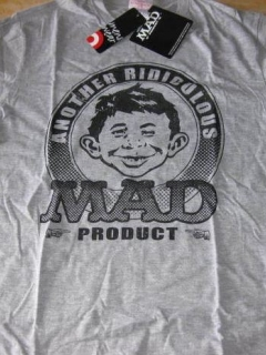 Go to T-Shirt Alfred E. Neuman with Hang Tags TARGET • USA