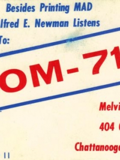 Go to Postcard Radio Ad for KOM-7169 • USA