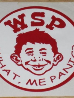 Go to Sticker Alfred E. Neuman Widespread Panic Unauthorized