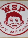 Image of Sticker Alfred E. Neuman Widespread Panic Unauthorized