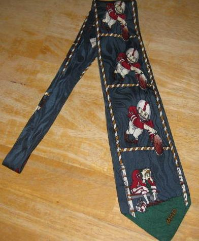 Necktie Alfred E. Neuman Football (Blue Version) • Canada