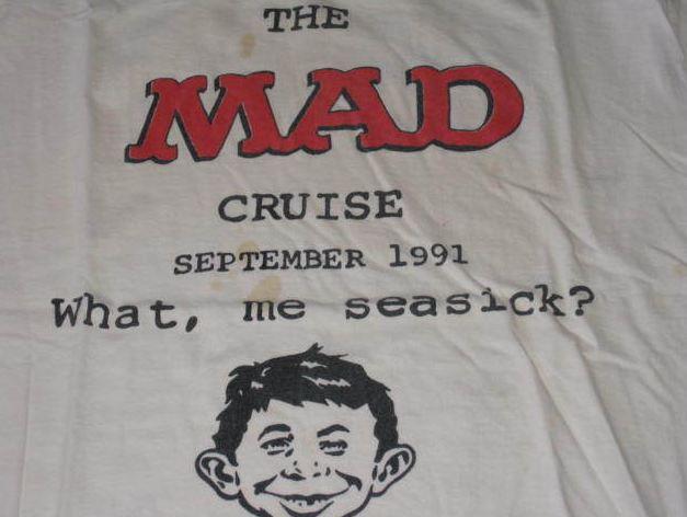 T-Shirt 1991 MAD Cruise MAD Magazine UGOI • USA