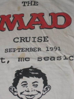 Go to T-Shirt 1991 MAD Cruise MAD Magazine UGOI • USA