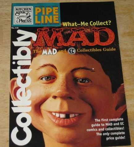 Book Advertisement Collectibly MAD Collectibles • USA