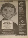 Image of Newspaper Advertisement MAD Original Art Exhibition Columbus, Ohio