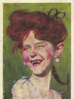Go to Postcard Alfred E. Neuman Female Look-A-Like