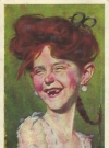 Postcard Alfred E. Neuman Female Look-A-Like