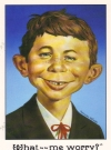 Greeting Card with Envelope Alfred E. Neuman Face