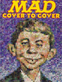 Promotional Cardboard Flyer 'MAD Cover to Cover' • USA