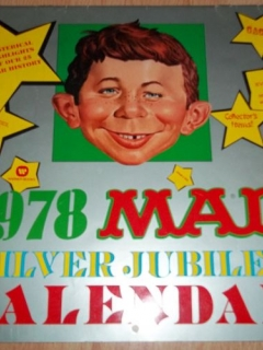 1978 Calendar MAD Silver Jubilee • USA