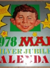 Thumbnail of 1978 Calendar MAD Silver Jubilee