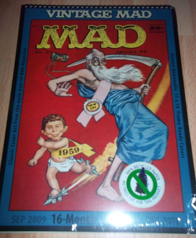 2010 Calendar Vintage MAD Calendar • USA