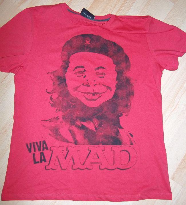 T-Shirt 'Viva La MAD', red • USA