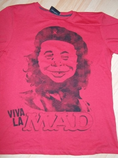 Go to T-Shirt 'Viva La MAD', red