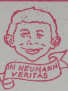 Go to Stamp Return Mailing Address Alfred E. Neuman