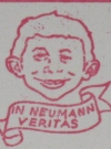 Image of Stamp Return Mailing Address Alfred E. Neuman