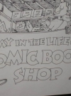 Image of Poster Sergio Aragonés Comic Book Shop Signed