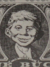 Thumbnail of 1959 Alfred E. Neuman / National Car Rental 'One Buck' Certificate MAD