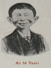 Image of Ink Blotter Alfred E. Neuman J.M. 'Buck' Shea
