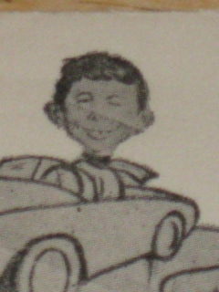 Go to Mailed Envelope Alfred E. Neuman Ice Racing Enterprises • USA