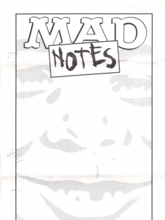 Go to MAD Notes Annie Gaines Personal • USA