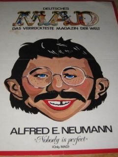 Go to Poster Alfred E. Neuman Color Promotional • Germany
