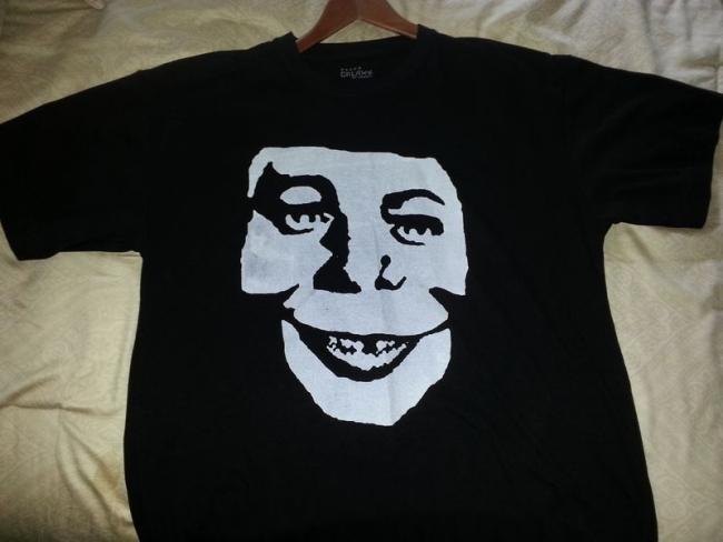 T-Shirt Alfred E. Neuman as Misfits Skull • USA