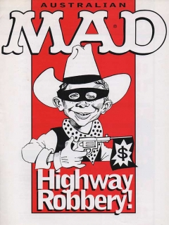 Go to Ad Sheet 'Highway Robbery' • Australia