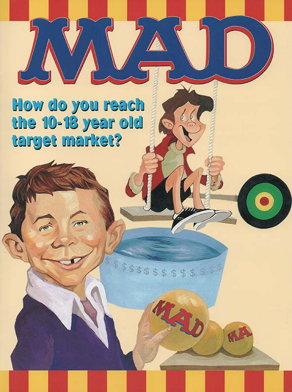 Ad Sheet 'How do you reach the 10-18 year old target market?' • Australia