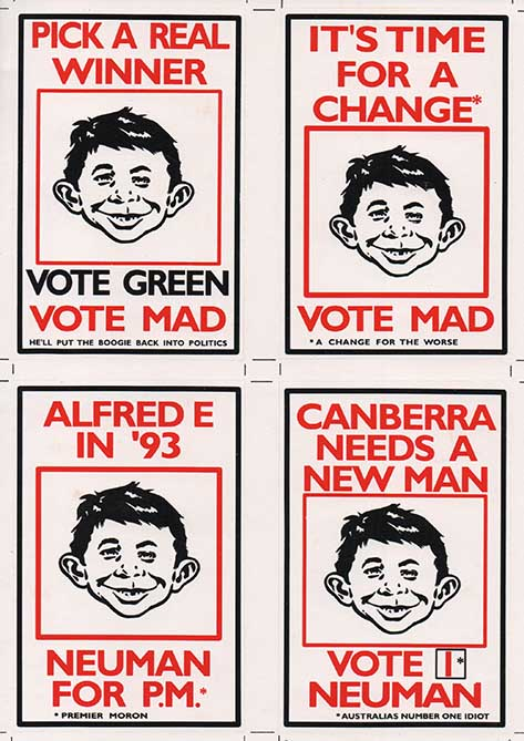 Stickers 1993 Election • Australia