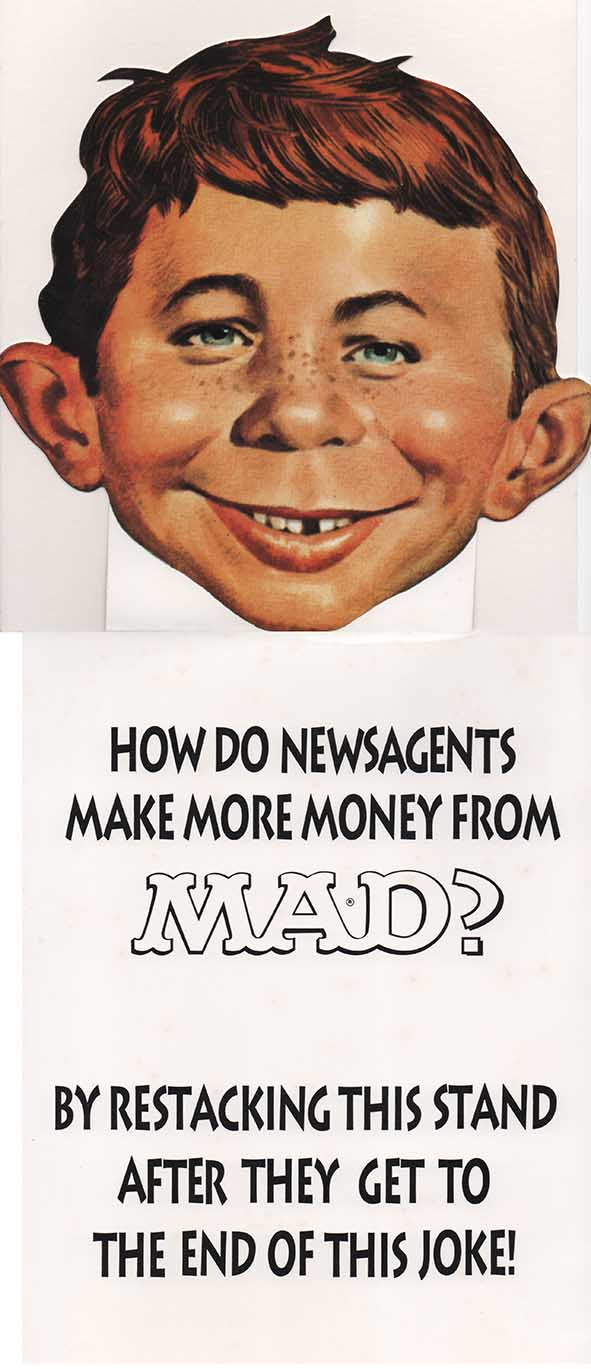 Newsagent Promotional: 'How do newsagents make more money from MAD?' • Australia