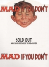 Image of Australian MAD Magazine Countertop Display Sign