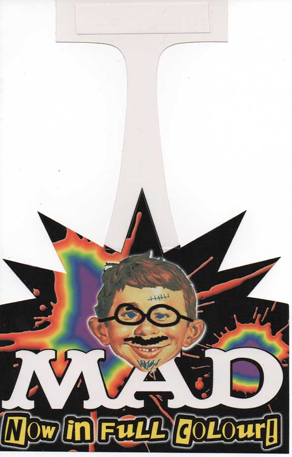 Promotional Stand MAD Magazine 2003 • Australia