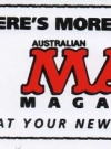 Image of Sticker MAD Promotional 'There is more MADness in Australian MAD'
