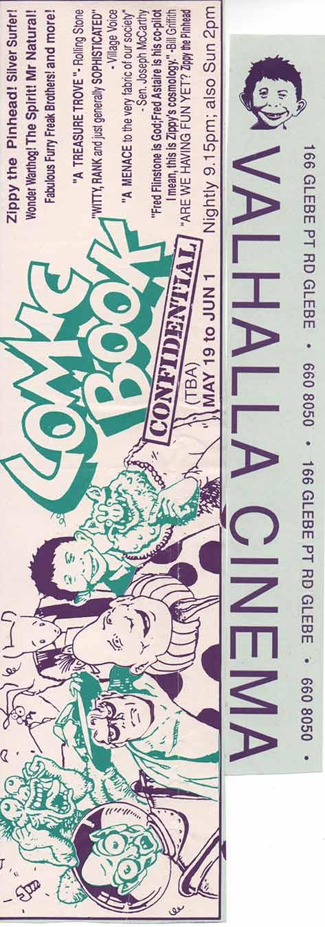 Poster Valhalla Theatre • Australia