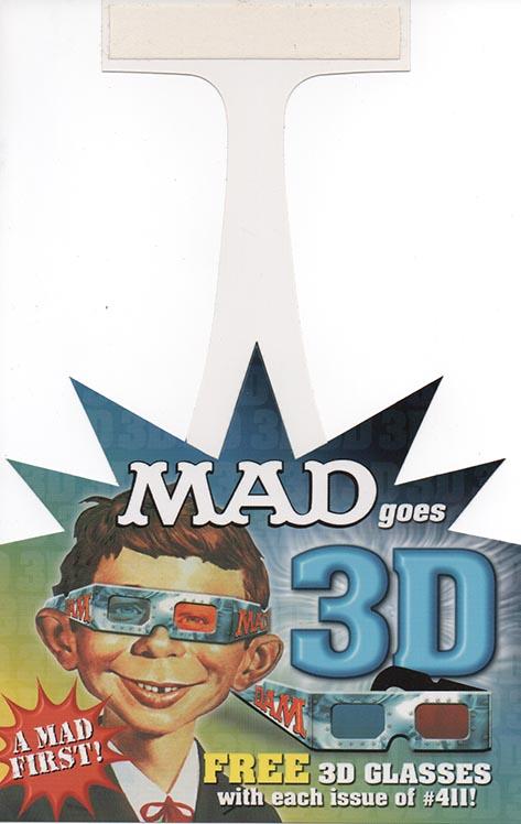 Promotional display for Australian MAD 411 • Australia