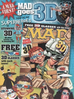 Go to Promotional flyer for Australian MAD 411