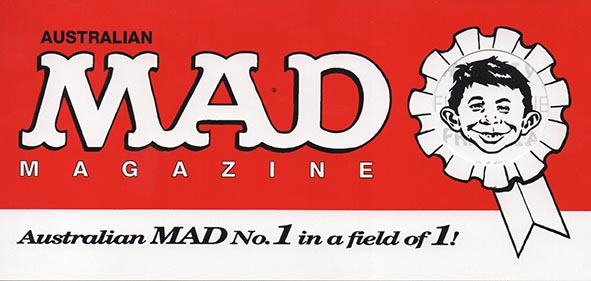 Invitation Card MAD Magazine • Australia
