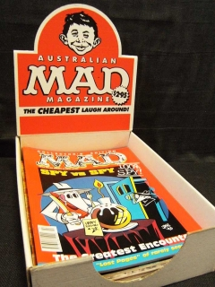 Go to Display box for MAD magazines