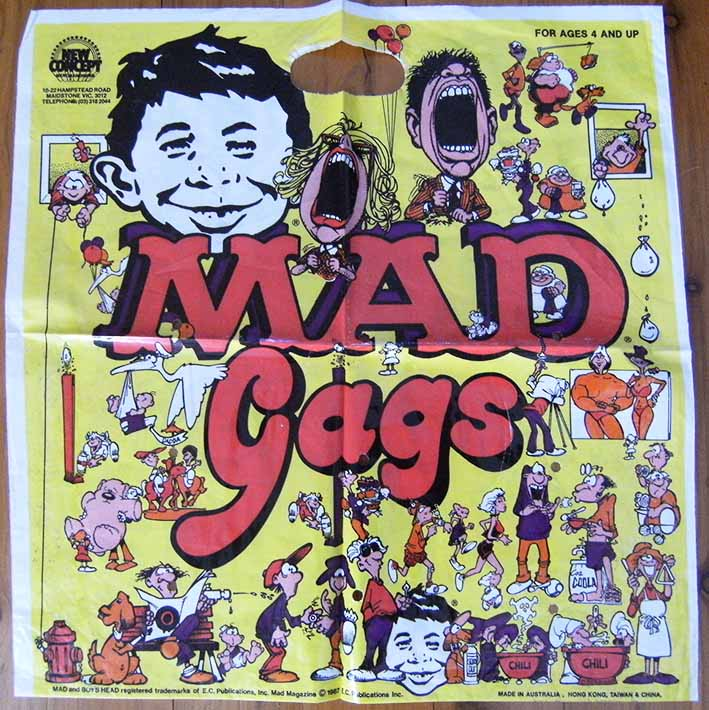 Gags bag MAD Magazine • Australia