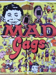 Go to Gags bag MAD Magazine • Australia