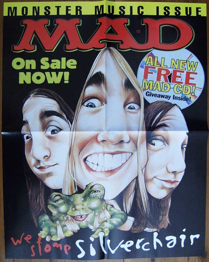 Promotional Poster 'Silverchair' MAD • Australia