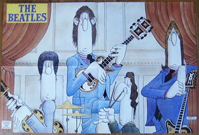 Beatles Poster by Don Martin • Germany