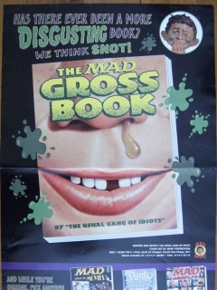 Go to Promotional Poster MAD Gross Book • USA
