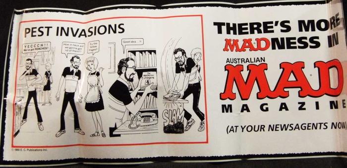 Promotional Bus Sticker MAD Internal 1 • Australia